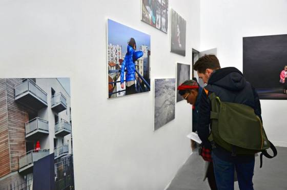 Vernissage - Vendredi 27 Mars 2015 © Yasmine Lecompte — at Mains D'oeuvres.