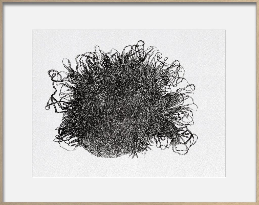 Don't Ask (25/06/2015) Dessin rotring sur papier fibre 90g 27 x 35 cm, 1/1